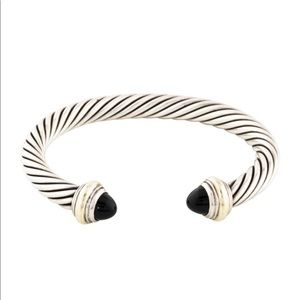 David Yurman Onyx Cable Classic Bracelet